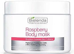 Parfüm, Parfüméria, kozmetikum Testápoló maszk - Bielenda Professional Raspberry With Guarana Bio-Caffeine Body Mask