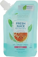 Parfüm, Parfüméria, kozmetikum Micellás szer - Bielenda Fresh Juice Detoxifying Face Micellar Water Watermelon
