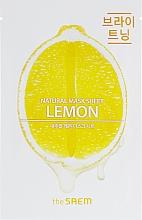 Parfüm, Parfüméria, kozmetikum Szövetmaszk citrommal - The Saem Natural Lemon Mask Sheet