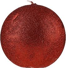 """Parfüm, Parfüméria, kozmetikum Dekoratív gyertya """"Luxus gömb"""", piros, 10 cm - Artman Glamour"""