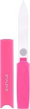 Parfüm, Parfüméria, kozmetikum Körömreszelő tokban FBC-13-128, rózsaszín - Staleks