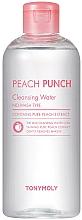 Parfüm, Parfüméria, kozmetikum Tisztító víz arcra - Tony Moly Peach Punch Cleansing Water