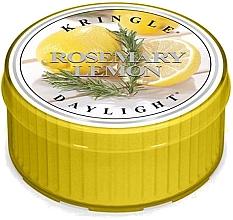 Parfüm, Parfüméria, kozmetikum Tea gyertya - Kringle Candle Rosemary Lemon Daylight