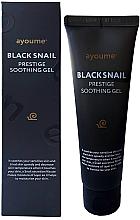 Parfüm, Parfüméria, kozmetikum Csiga mucin gél érzékeny bőrre - Ayoume Black Snail Prestige Soothing Gel