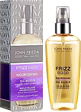 """Parfüm, Parfüméria, kozmetikum Hajolaj """"Tápláló elixír"""" - John Frieda Frizz Ease Nourishing Oil Elixir"""