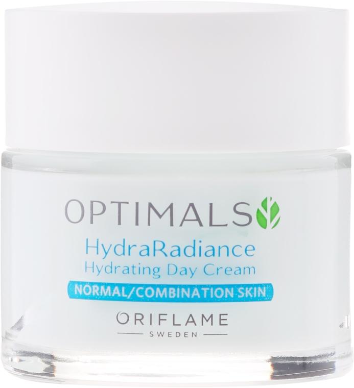 Hidratáló nappali krém normál és kombinált bőrre - Oriflame Optimals Hydra Radiance Hydrating Day Cream — fotó N2