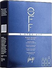 Parfüm, Parfüméria, kozmetikum Színelőhívó szer - Vitality's Color Off 3 Step Kit