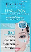 Parfüm, Parfüméria, kozmetikum Frissítő tapaszok szemre - Eveline Cosmetics Hyaluron Hydrogel Illuminating Eye Pads 8in1