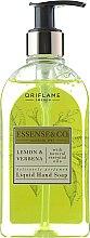 Parfüm, Parfüméria, kozmetikum Folyékony szappan arcra és kézre citrommal és verbenával - Oriflame Essense & Co
