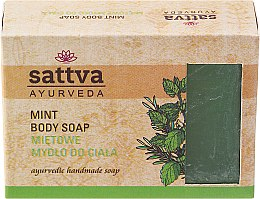 Parfüm, Parfüméria, kozmetikum Szappan - Sattva Hand Made Soap Mint
