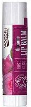 Parfüm, Parfüméria, kozmetikum Ajakápoló balzsam - Wooden Spoon Lip Balm Rose Kiss