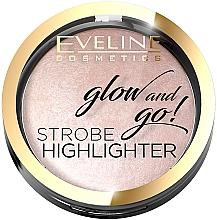 Parfüm, Parfüméria, kozmetikum Highlighter arcra - Eveline Cosmetics Glow And Go Strobe Highlighter