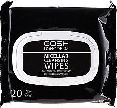 Parfüm, Parfüméria, kozmetikum Micellás sminklemosó kendő - Gosh Donoderm Micellar Cleansing Wipes