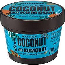 """Parfüm, Parfüméria, kozmetikum Testkrém """"Kókusz és kumkvat"""" - Cafe Mimi Body Cream Coconut And Kumquat"""