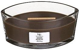 Parfüm, Parfüméria, kozmetikum Illatosított gyertya pohárban - Woodwick Hearthwick Flame Ellipse Candle Oudwood