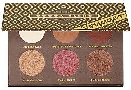 Parfüm, Parfüméria, kozmetikum Szemhéjfesték paletta - Zoeva Cocoa Blend Voyager Eyesadow Palette
