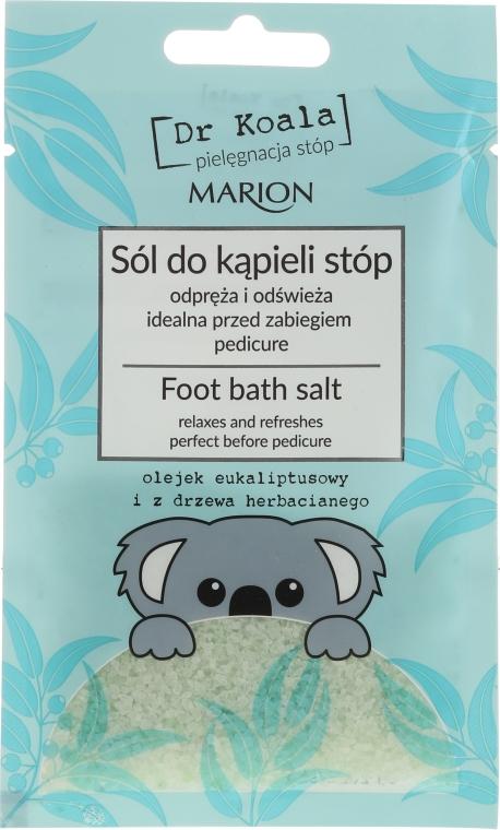 Puhító lábsó - Marion Dr Koala Foot Bath Salt