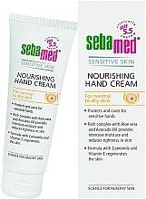 Parfüm, Parfüméria, kozmetikum Kézkrém - Sebamed Hand And Nail Cream Protective With Vit E And Cammomile