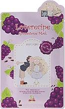 Parfüm, Parfüméria, kozmetikum Szövetmaszk szőlő kivonattal - Sally's Box Loverecipe Grapestone Mask
