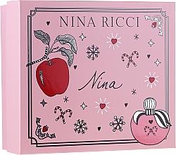 Parfüm, Parfüméria, kozmetikum Nina Ricci Nina - Szett (edt/50ml + lipstick/2.5g)