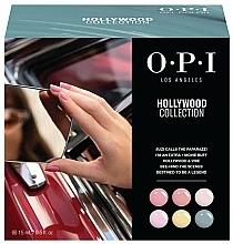 Parfüm, Parfüméria, kozmetikum Készlet - O.P.I Gel Color Hollywood Spring 2021 Add-On Kit #1