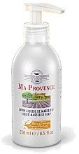 "Parfüm, Parfüméria, kozmetikum Folyékony Marseille szappan ""Narancs"" - Ma Provence Liquid Marseille Soap Orange"