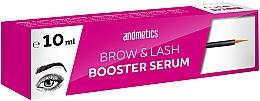 Parfüm, Parfüméria, kozmetikum Szemöldök és szempilla szérum - Andmetics Brow & Lash Booster Serum