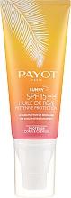 Parfüm, Parfüméria, kozmetikum Napvédő száraz olaj testre és hajra - Payot Sunny The Sublimating Tan Effect Body and Hair SPF15