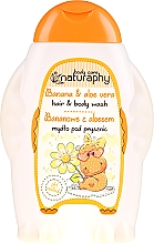"""Parfüm, Parfüméria, kozmetikum Sampon és tusfürdő """"Banán és aloe vera"""" - Bluxcosmetics Naturaphy Hair & Body Wash"""