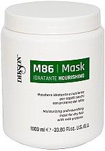 Parfüm, Parfüméria, kozmetikum Hidratáló és tápláló maszk száraz hajra tejproteinnel - Dikson M86 Nourishing Mask