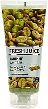 "Parfüm, Parfüméria, kozmetikum Testradír ""Citromfű és zöld kávé"" - Fresh Juice Lemongrass Green Coffee"