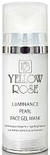 Parfüm, Parfüméria, kozmetikum Géles arcmaszk gyöngyökkel, gyémántporral - Yellow Rose Luminance Pearl Face Gel Mask