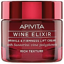 Parfüm, Parfüméria, kozmetikum Lifting krém - Apivita Wine Elixir Wrinkle And Firmness Lift Cream Rich Texture