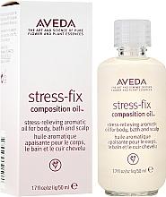 Parfüm, Parfüméria, kozmetikum Nyugtató olaj, illatosított - Aveda Stress Fix Composition Oil