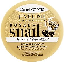 Parfüm, Parfüméria, kozmetikum Arc- és testápoló krém - Eveline Royal Snail