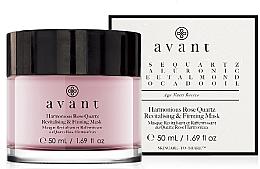 Parfüm, Parfüméria, kozmetikum Helyreállító és erősítő maszk - Avant Harmonious Rose Quartz Revitalising & Firming Mask