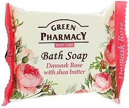 """Parfüm, Parfüméria, kozmetikum Szappan """"Damaszkuszi rózsa és shea olaj"""" - Green Pharmacy"""