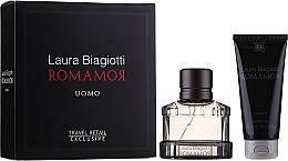 Parfüm, Parfüméria, kozmetikum Laura Biagiotti Romamor Uomo - Szett (edt/40ml + sh/gel/100ml)