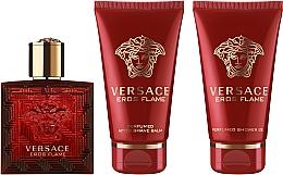 Parfüm, Parfüméria, kozmetikum Versace Eros Flame - Szett (edp/50ml + sh/gel/50ml + ash/balm/50ml)