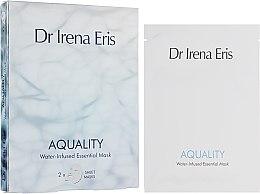 Parfüm, Parfüméria, kozmetikum Hidratáló arcmaszk - Dr. Irena Eris Aquality Water-Infused Essential Mask