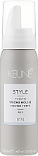 """Parfüm, Parfüméria, kozmetikum Mousse """"Extrafixáló"""" №74 - Keune Style Strong Mousse Travel Size"""