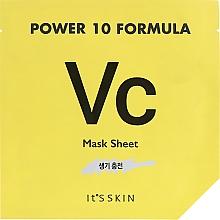 Parfüm, Parfüméria, kozmetikum Szövet arcmaszk, tonizáló hatás - It's Skin Power 10 Formula Mask Sheet VC