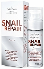 Parfüm, Parfüméria, kozmetikum Aktív öregedésgátló koncentrátum csigaváladékkal - Farmona Professional Snail Repair Active Rejuvenating Concentrate With Snail Mucus
