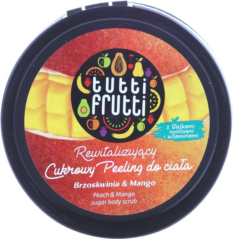"""Cukros testradír """"Őszibarack és mangó"""" - Farmona Tutti Frutti Sugar Scrub"""