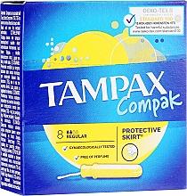 Parfüm, Parfüméria, kozmetikum Tampon aplikátorral, 8 db - Tampax Compak Regular