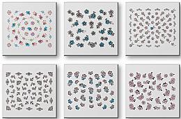 Parfüm, Parfüméria, kozmetikum Körömmatrica szett 42942 - Top Choice Nail Decorations Stickers Set