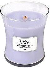 Parfüm, Parfüméria, kozmetikum Illatosított gyertya pohárban - WoodWick Hourglass Candle Lilac