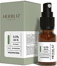 """Parfüm, Parfüméria, kozmetikum Olajos szájüreg spray """"Olíva"""" 2,5% - Herbliz CBD Olive Fresh Oil Mouth Spray 2,5%"""
