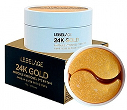 Parfüm, Parfüméria, kozmetikum Hidrogél szemtapasz - Lebelage 24K Gold Ampoule Hydrogel Eye Patch