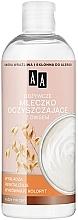 Parfüm, Parfüméria, kozmetikum Tápláló tisztító tej zab kivonattal - AA Skin Food